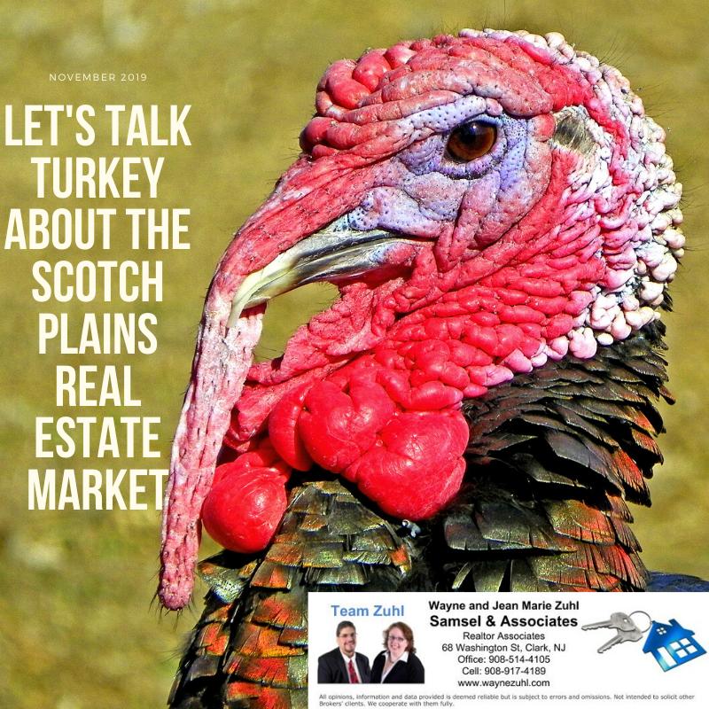 Let's talk turkey about the scotch plains real estate market